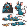 Coloring pages color example funny mouse