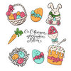 Coloring pages color example easter baby pictures