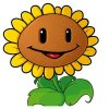 Coloring pages color example sunflower