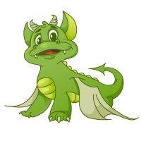 Раскраска добый дракон беззубик для детей распечатать