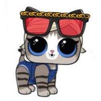 Раскраска лол питомцы шорти китти (коротышка котенок) для ...