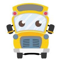 Распечатать раскраску школьный автобус для детей для детей ...