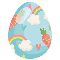 Раскраска пасха, милый рисунок яйца на пасху распечатать ...