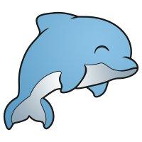 Раскраска дельфин красавец распечатать