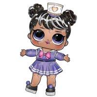 Раскраска кукла лол sailor q.t в юбочке для девочек ...
