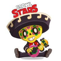 Раскраска Браво Старс скин поко распечатать | Brawl Stars