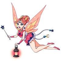 Раскраска Красивая принцесса фея для девочек распечатать ...