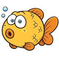Раскраска рыба аквариумная золотая рыбка распечатать