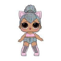 Раскраска кукла лол королева кошек (kitty queen) для ...