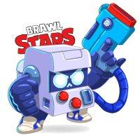 Раскраска Браво Старс скин бойца 8-бит распечатать | Brawl ...