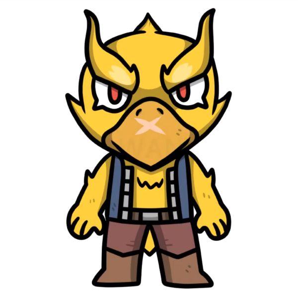 Раскраска Браво Старс феникс ворон (кроу, phoenix crow ...
