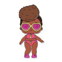 Раскраска кукла лол в спортивном купальнике (riptide) для ...