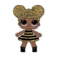 Раскраска кукла лол королева пчел (queen bee) для девочек ...