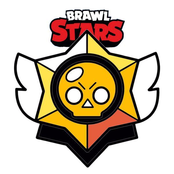 Раскраска Браво Старс логотип эмблема распечатать | Brawl ...