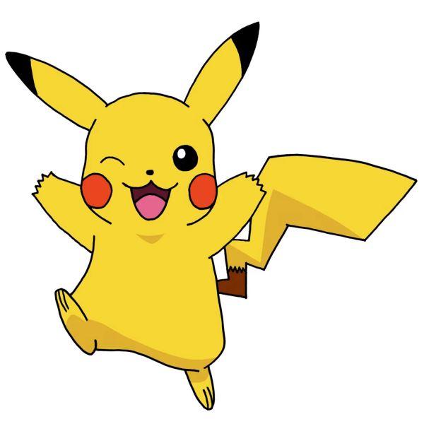 Раскраска Пикачу счастливый покемон распечатать бесплатно ...