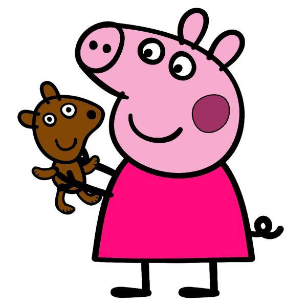 Раскраска Свинка Пеппа, с игрушкой в хорошем качестве ...