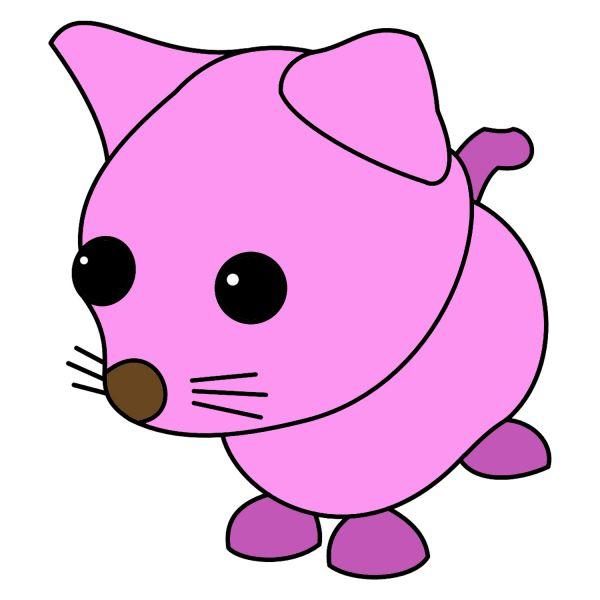 Раскраска Роблокс адопт ми пет кот распечатать | Roblox