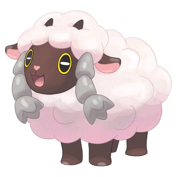 Раскраска покемон овечка вулу распечатать бесплатно | Pokemon