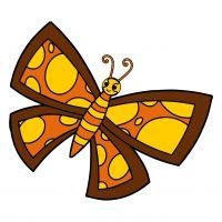 Раскраска бабочка для детей для детей распечатать бесплатно