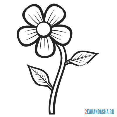 Раскраска Кактус цветок в горшке для детей распечатать ...