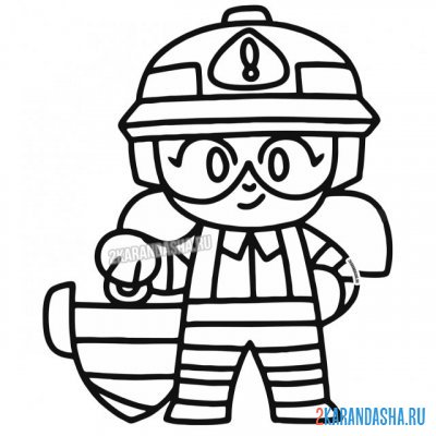 Print a coloring book jacky the builder (jacky) on A4